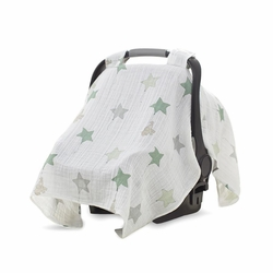 car seat canopy - up up and away
