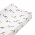 Changing Pad Cover - jungle jam:giraffe:single