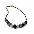 Chelsea Necklace - Black