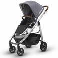 CRUZ Stroller - Gregory (Blue Marl/Silver/Leather)