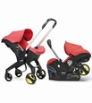 Doona Infant Car Seat with Base :Red/Love