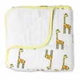 Dream Blanket - jungle jam:giraffe + white