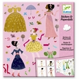 Dresses Through The Seasons - Stickers & Paper Dolls