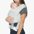 Ergo Baby Aura Wrap-Grey Stripes