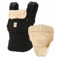 ERGO Bundle of Joy - Original Black/Camel (Carrier+Insert)