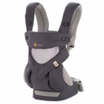ERGO Four Position 360 Carrier - Cool Air: Cabon Grey