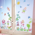 Fairy Garden Window stickers
