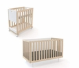 FAWN BASSINET/CRIB - WHITE/BIRCH