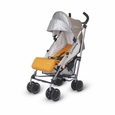 G-LUXE Stroller - Ani (Orange/Silver)