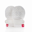 GoumiKids Mitts : Chevron (cream)