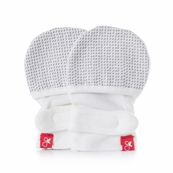 GoumiKids Mitts : Drops (Gray)