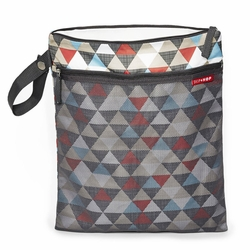 Grab&Go Wet/Dry Bag - Triangles
