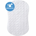 HALO BassiNest: Waterproof Mattress Pad (White)
