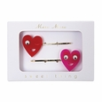 Heart Hair Pins