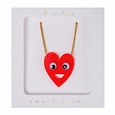 Heart with Eyes Necklace