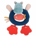 Hippo ring rattle - Les Papoum