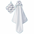 Hooded Towel - high seas
