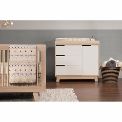 Hudson Changer Dresser (No pad): Washed Natural/White