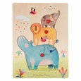 Les Papoum Animal Puzzle (3pcs)