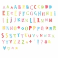 LIGHTBOX LETTER SET: FUNKY COLOR