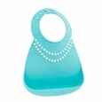 Make My Day baby Bib - Tifanny Blue w/ Pearls