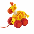 Mini Pull Along Giraffe