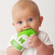 Munch Mitt Baby Teething Mitten (Green)