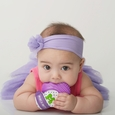 Munch Mitt Baby Teething Mitten (Purple)