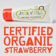Natural Toothpaste Organic Strawberry