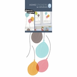 Nouvelles Balloons Homestickers Window Decal