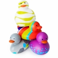 Odd Ducks 4Pk - Multicolor Purple