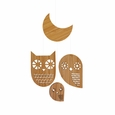 owl family classic bamboo mobile
