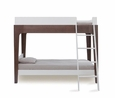 PERCH BUNK BED - WHITE/WALNUT