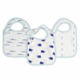 Snap Bib 3pk - high seas