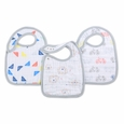 Snap Bib 3pk - leader of the pack