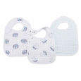 Snap Bib 3pk - thistle