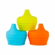 Snug Spout 3pk Lids - Blue/Orange/Green