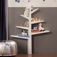 Spruce Tree Bookcase: White