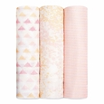 Swaddle (Silky Soft) 3pk -  metallic primrose birch
