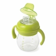 Transitions Soft Spout Sippy Cup With Removable Handles: Green