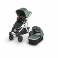 VISTA Stroller: EMMETT(Green Melange/Silver/Leather)
