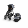 Vista 2018 Stroller: Gregory(Blue Melange/Silver/Leather)