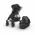 Vista 2018 Stroller: Jake(Black/Carbon/Leather