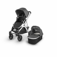 Vista 2018 Stroller: Jordan(Charcoal Melange/Silver/Leather)