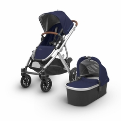Vista 2018 Stroller: Taylor(Indgo/Silver/Leather)