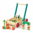 Wagon with blocks