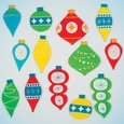 Window Stickers: Holiday Ornament