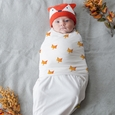 Zen Swaddle Premier - Friendly Fox