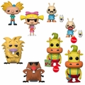 90s Nickelodeon Complete Set (8) w/ CHASES Funko Pop! Series 2