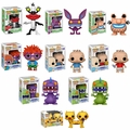 90s Nickelodeon Complete Set (9) w/ CHASES Funko Pop!